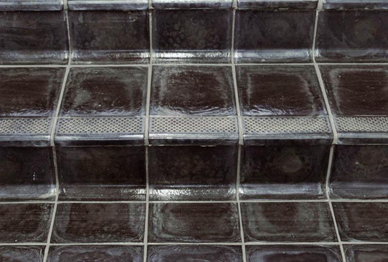Piastrelle in basalto fuso pezzi speciali